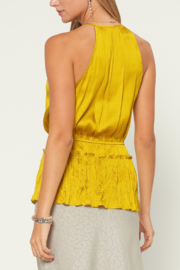 Current Air  Halter Neck Blouse - Front full body