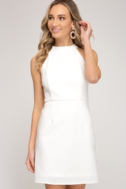 She + Sky Halter Neck Dress - Product Mini Image