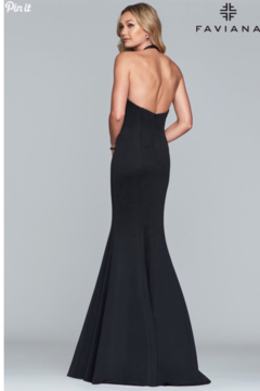 Faviana Halter Neck Gown - Alternate List Image