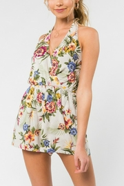 Everly Halter Neck Romper - Product Mini Image