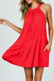 CY Fashion Halter Pocket Dress - Product Mini Image
