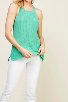 Staccato Halter Sweater Tank - Product List Image