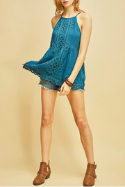 Entro Halter top with crochet details - Product Mini Image