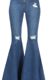 Hammer Jeans Hammer Distressed Flares - Product Mini Image