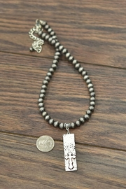 JChronicles Hammered Cross-Pendant Necklace - Side cropped