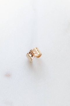 Token Jewelry  Hammered Ear Cuff - Product List Image