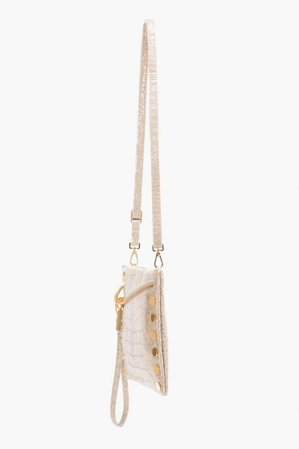 Hammitt Los Angeles Nash Leather Clutch - Side Cropped Image