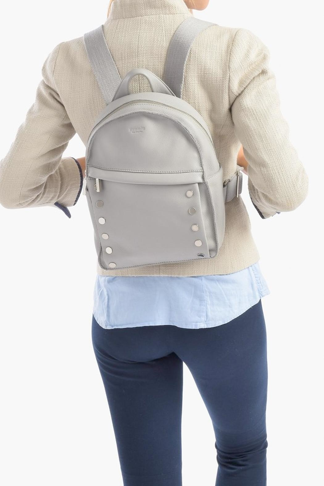 Hammitt Los Angeles Shane Leather Backpack - Side Cropped Image