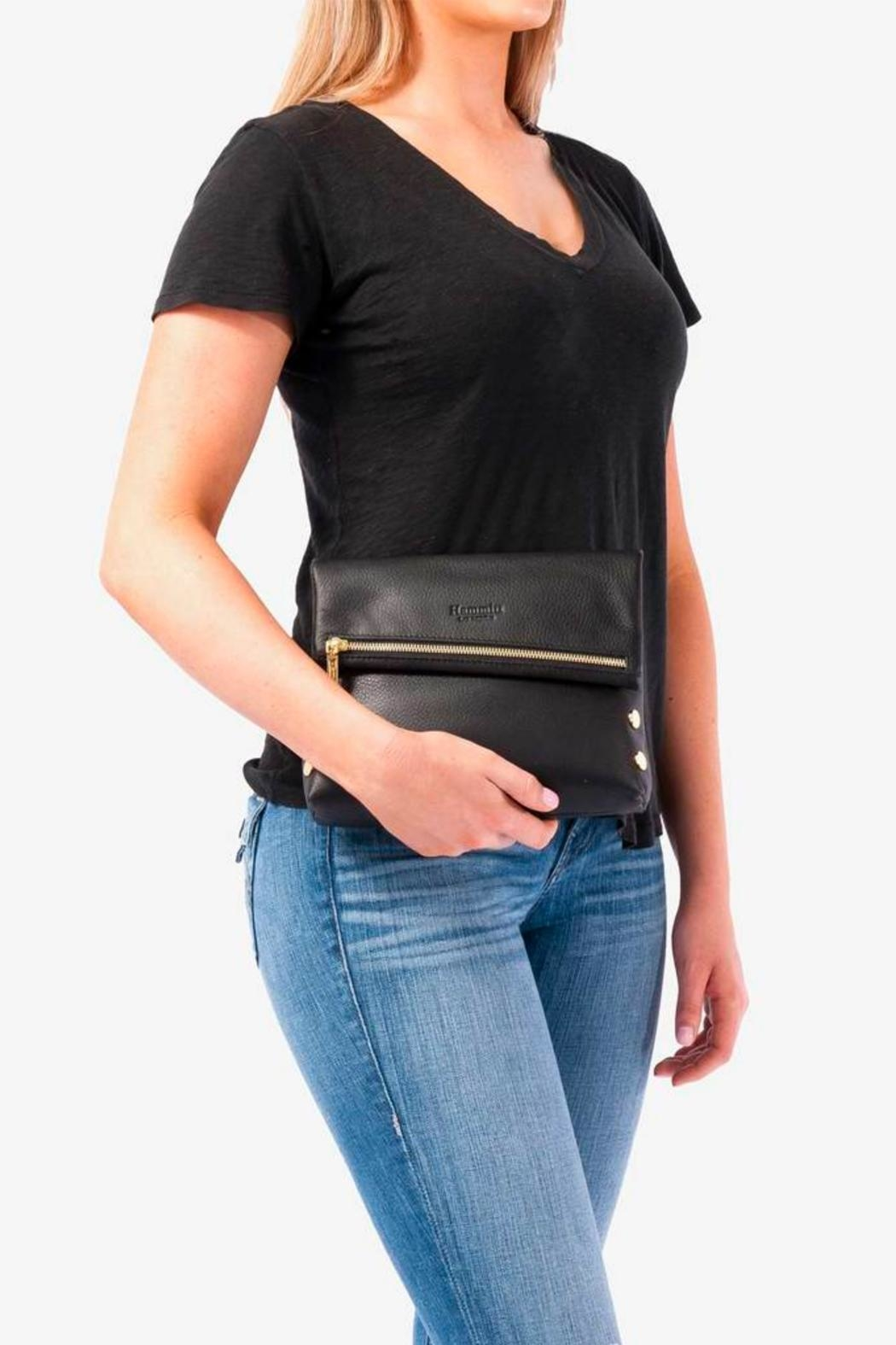 Hammitt Los Angeles Vip Leather Clutch - Side Cropped Image