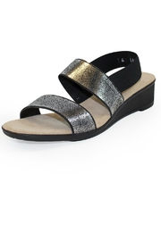CHARLESTON Hampton Wedge Sandal - Front cropped