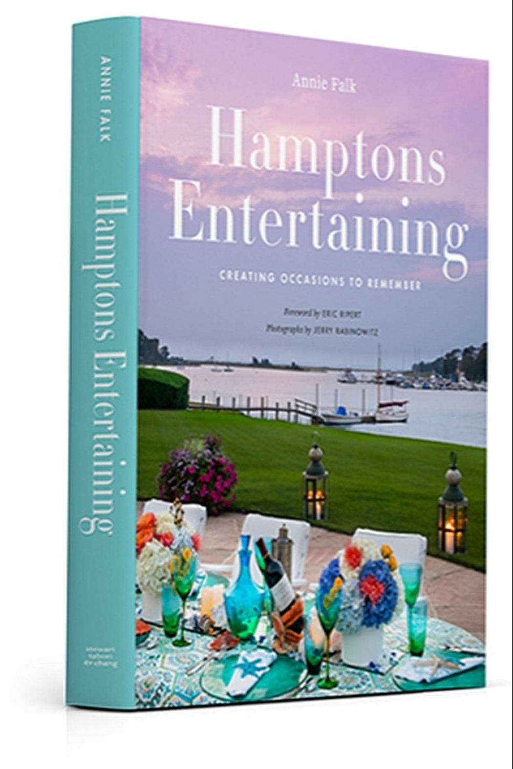The Birds Nest HAMPTONS ENTERTAINING BOOK BY ANNIE FALK - Front Full Image