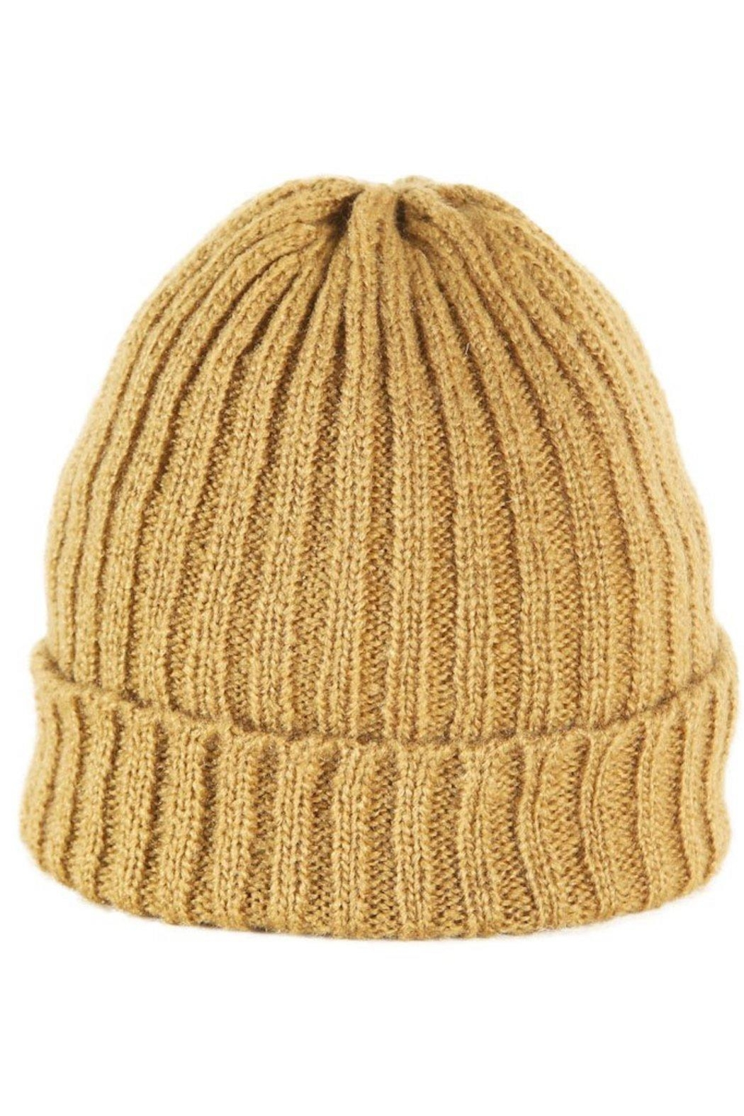 Wooden Ships Hamptons Rib Beanie - Front Cropped Image
