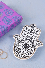 Natural Life Hamsa Trinket Dish - Product Mini Image