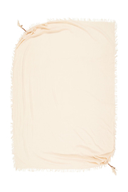 Spell & the Gypsy Collective Hanalei Travel Scarf in Sand - Side cropped