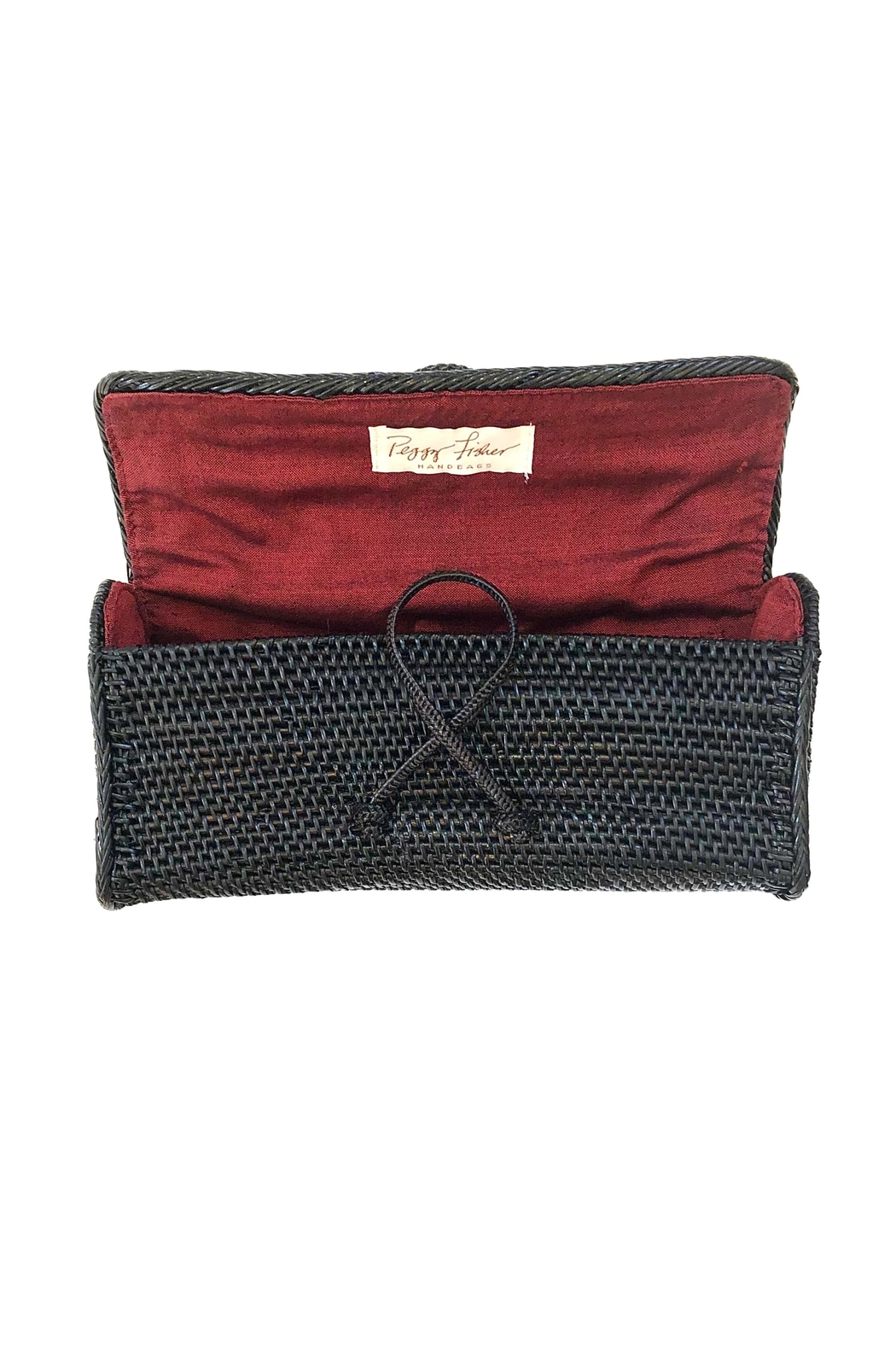 Hancock Baskets Peggy Fisher Clutch - Front Full Image