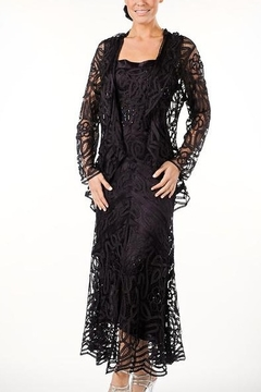 Soulmates Hand Crochet Silk Dress & Jacket - Product List Image