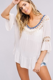 Listicle Hand Crochet Top - Side cropped