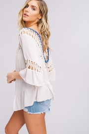Listicle Hand Crochet Top - Other