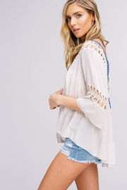 Listicle Hand Crochet Top - Front full body