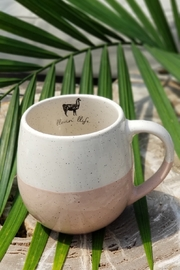 Karma Living Hand Dipped Speckled Mugs - Product Mini Image