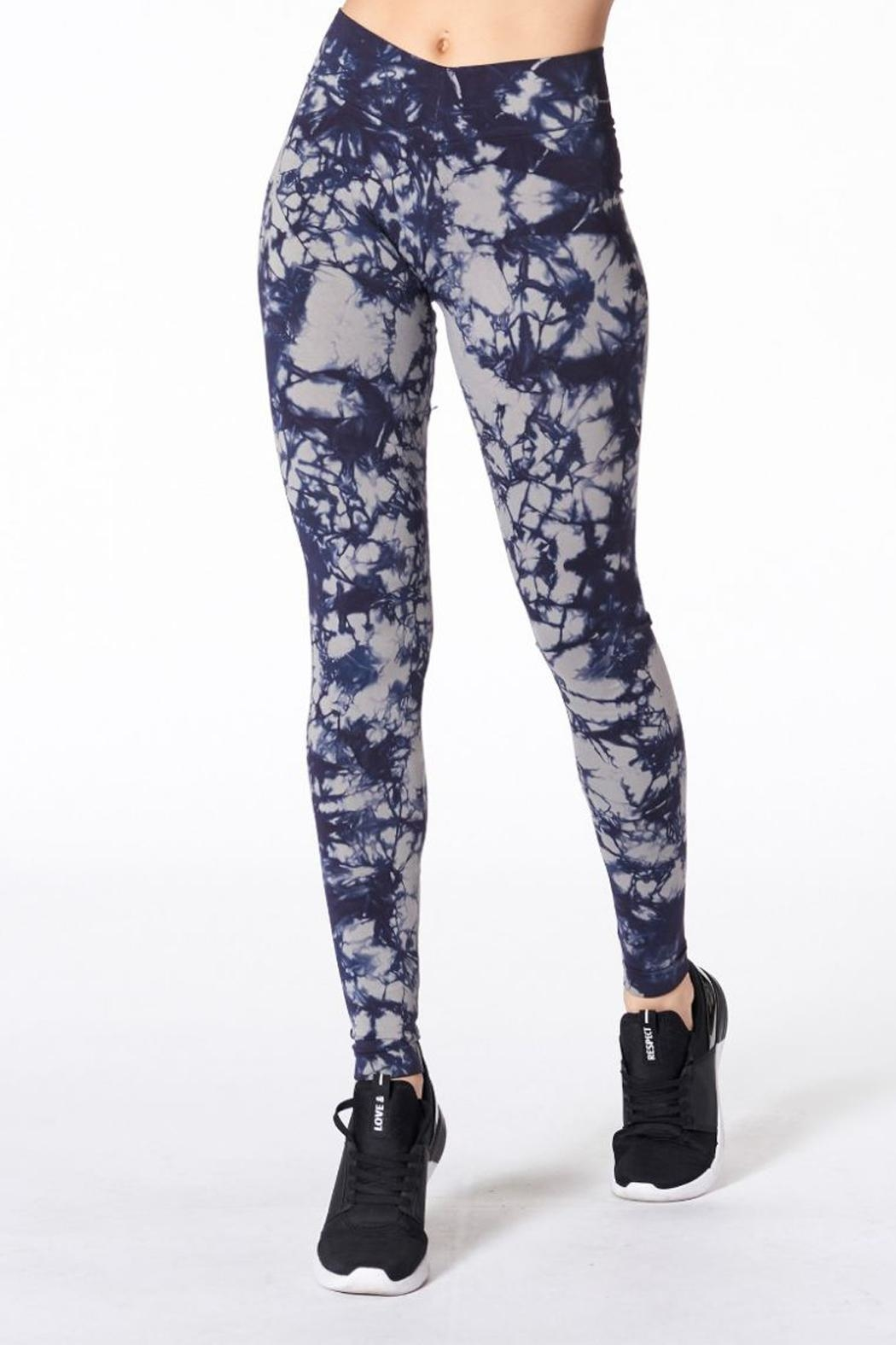 NUX Hand Dyed Leggings - Front Cropped Image