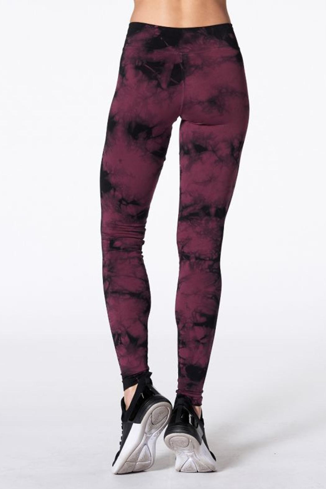NUX Hand Dyed Leggings - Side Cropped Image