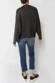 Acoté Hand-Knit Cardigan - Back cropped