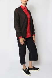 Acoté Hand-Knit Cardigan - Front full body
