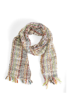 Shoptiques Product: Hand Knit Scarf w/ Tassels