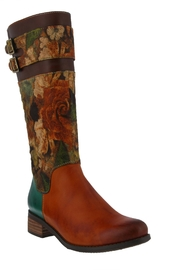 Spring Footwear Hand Painted Boot - Product Mini Image