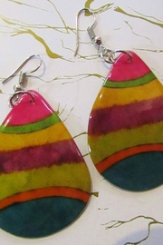 KIMBALS HAND PAINTED DROP EARRING - Product Mini Image