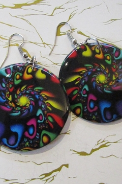 KIMBALS HAND PAINTED DROP EARRING - Product List Image