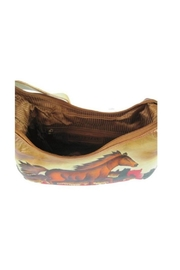 Magnifique Bags Hand-Painted Horse Purse - Side cropped