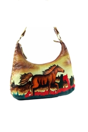 Magnifique Bags Hand-Painted Horse Purse - Product Mini Image