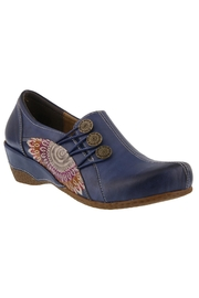 Spring Footwear Hand-Painted Leather Loafer - Product Mini Image