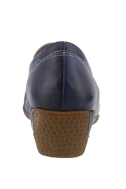 Spring Footwear Hand-Painted Leather Loafer - Front full body