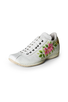 Lady Doc Hand-Painted Leather Sneaker - Product List Image