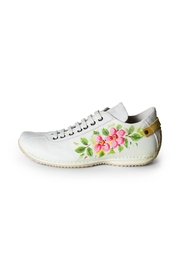 Lady Doc Hand-Painted Leather Sneaker - Product Mini Image