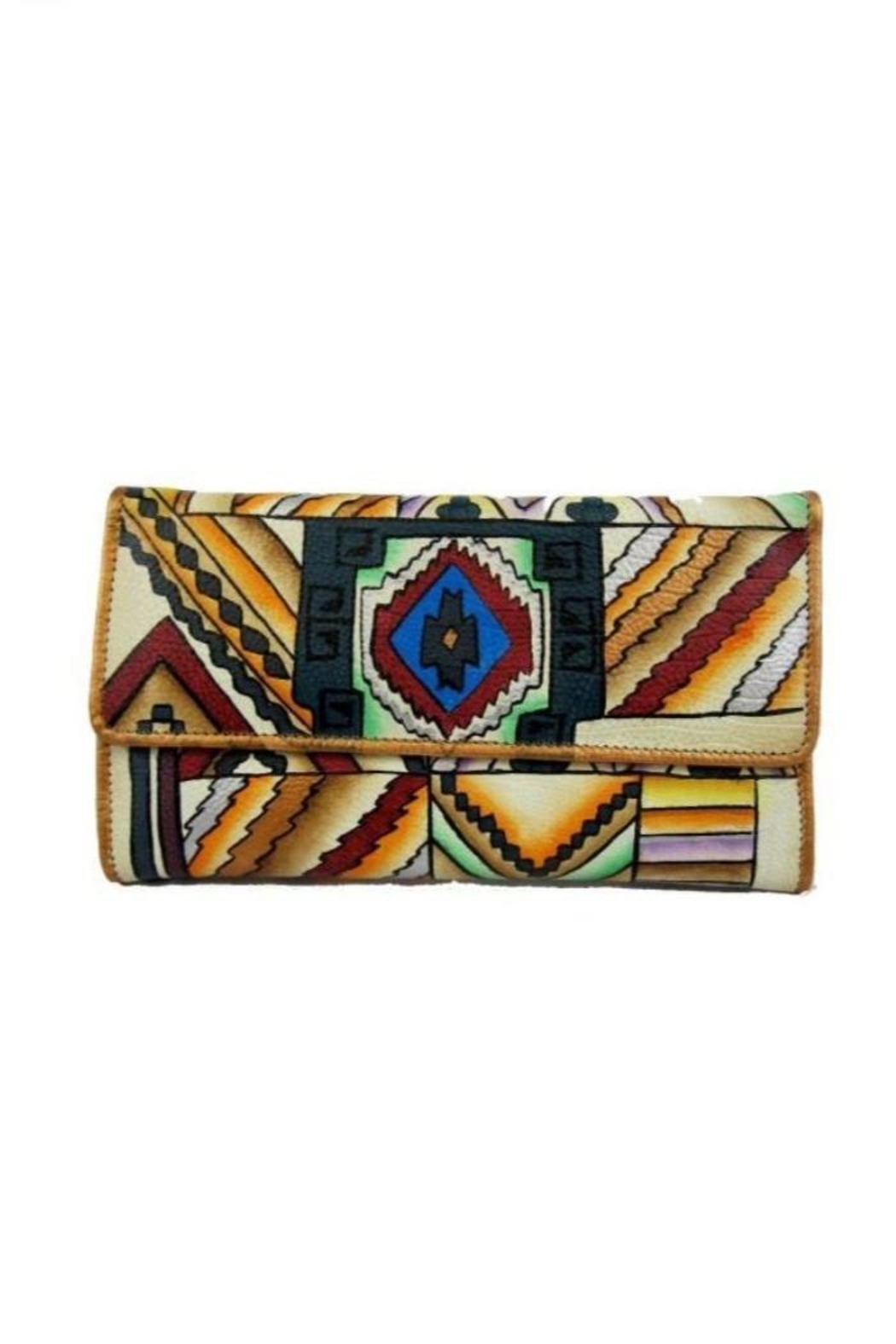 Magnifique Bags Hand-Painted Southwest Wallet - Main Image
