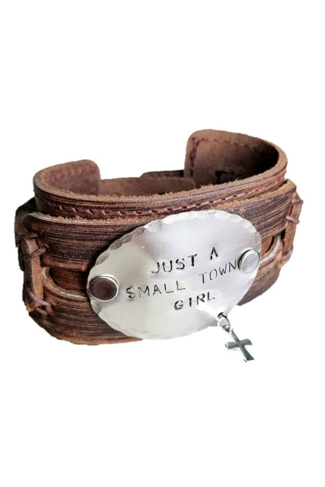 The Jewelry Junkie Hand Stamped Cuff - Main Image