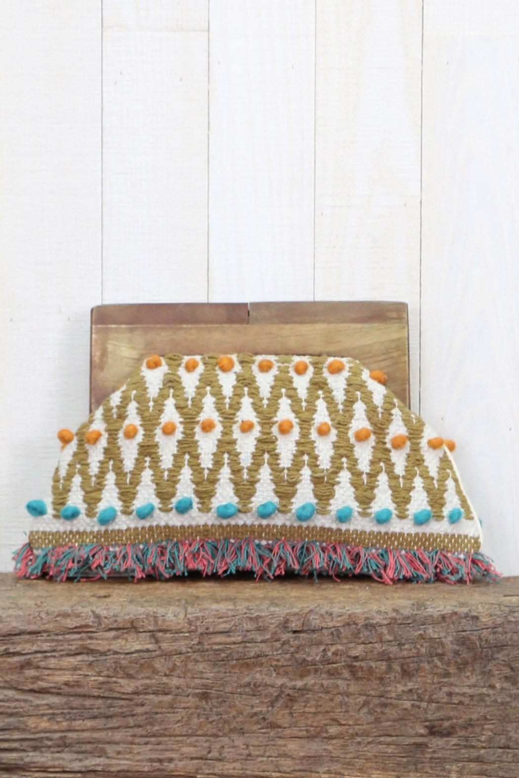 Lovestitch Hand Woven Clutch - Main Image