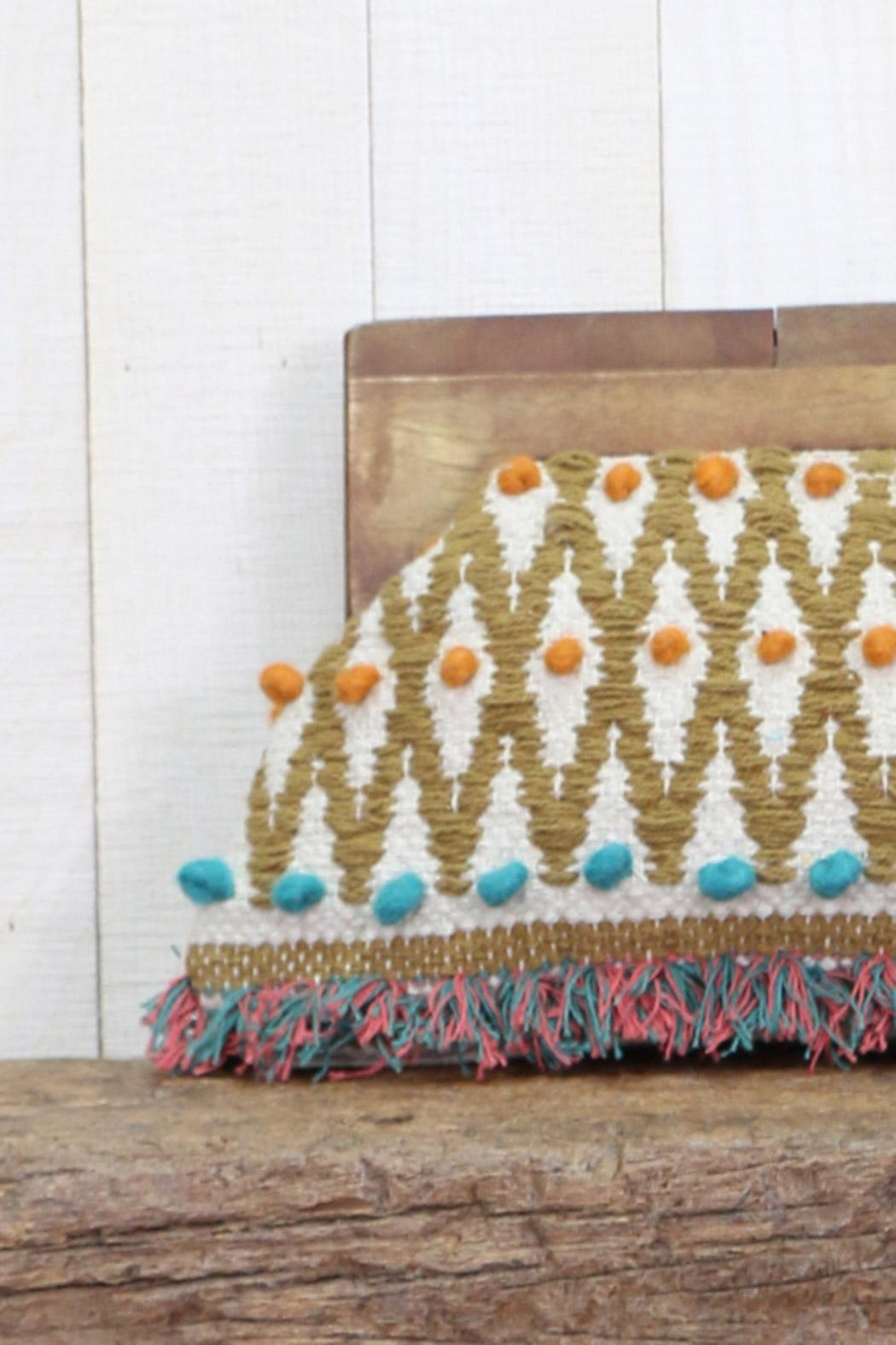 Lovestitch Hand Woven Clutch - Front Full Image