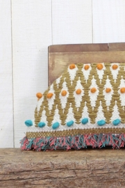 Lovestitch Hand Woven Clutch - Front full body