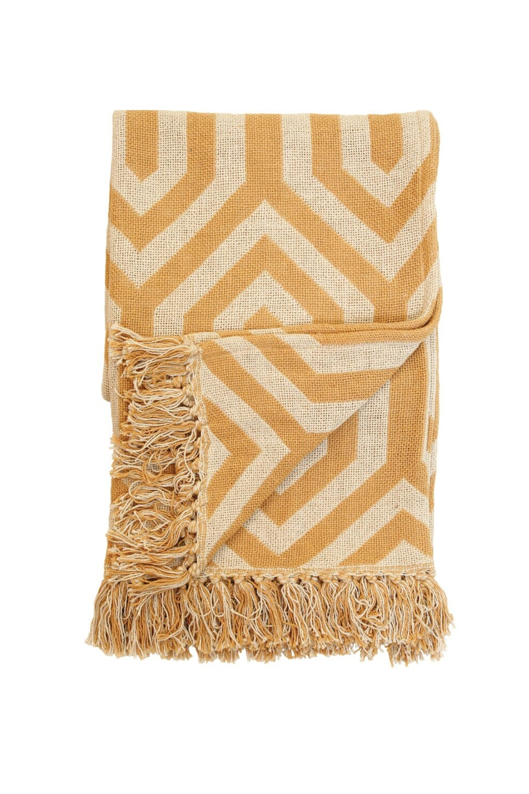 Foreside Home & Garden Hand Woven Hallie Throw - Main Image