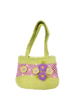 Shoptiques Product: Pink Green Purse