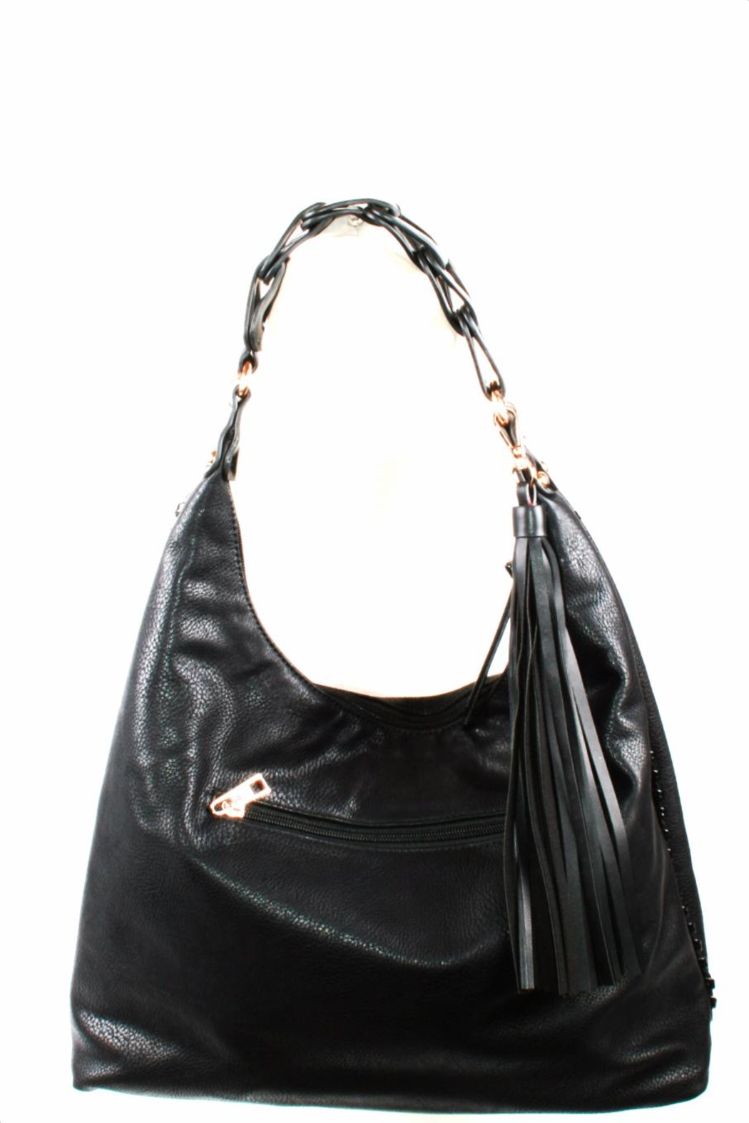 Handbag Republic Tassel Bucket Bag - Front Full Image