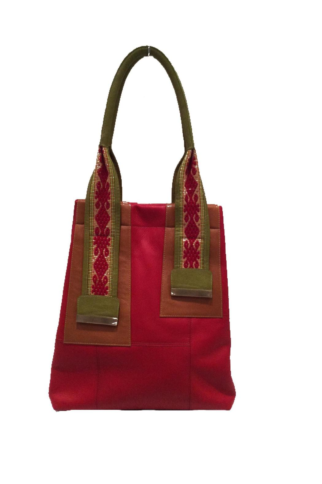 Limon Piel Handcrafted Leather Handbag Front Cropped Image