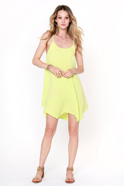 Bobi Los Angeles Handkercheif Hem Dress - Product Mini Image