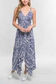 Lovestitch Handkerchief Maxi Dress - Product Mini Image