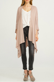 Wishlist Handkerchief open hem kimono - Product Mini Image